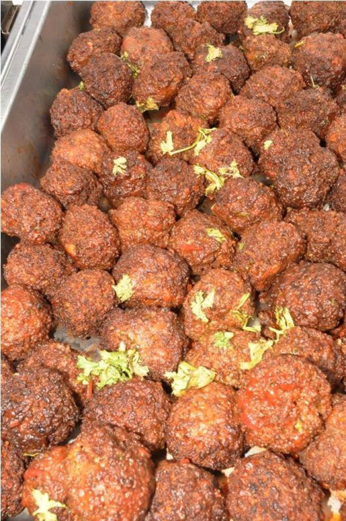Meat balls from Events Catering Limited