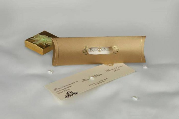 A special wedding invitation card designed by Chic Designs