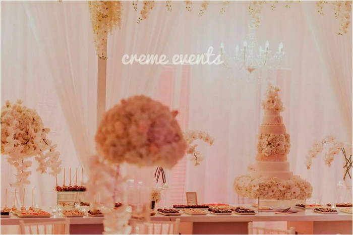 Beautiful decor always by Creme Events Uganda