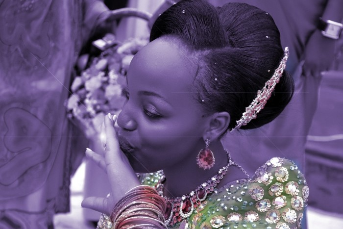 Leila at her customary wedding powered by Vision Digital Images
