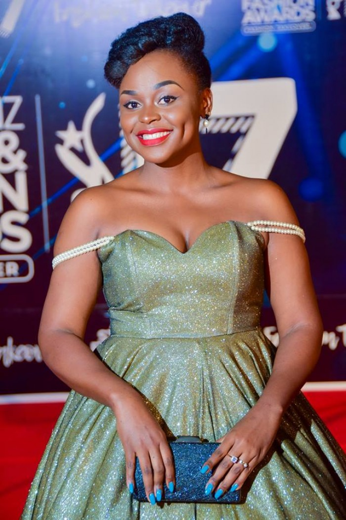 The beautiful Rema Namakula at the ASFA 2017