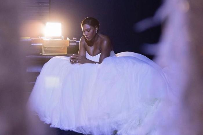 Snow white gown at Winnie's Bridal Boutique