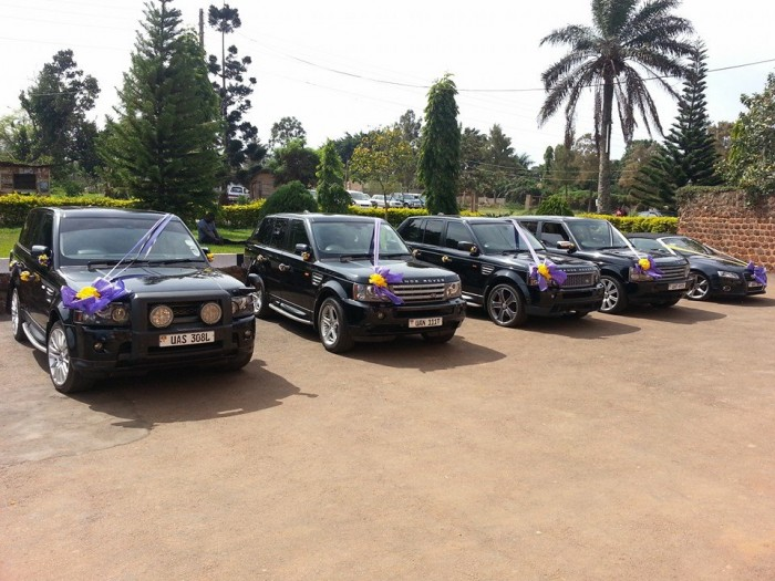 Range Rovers for Hire