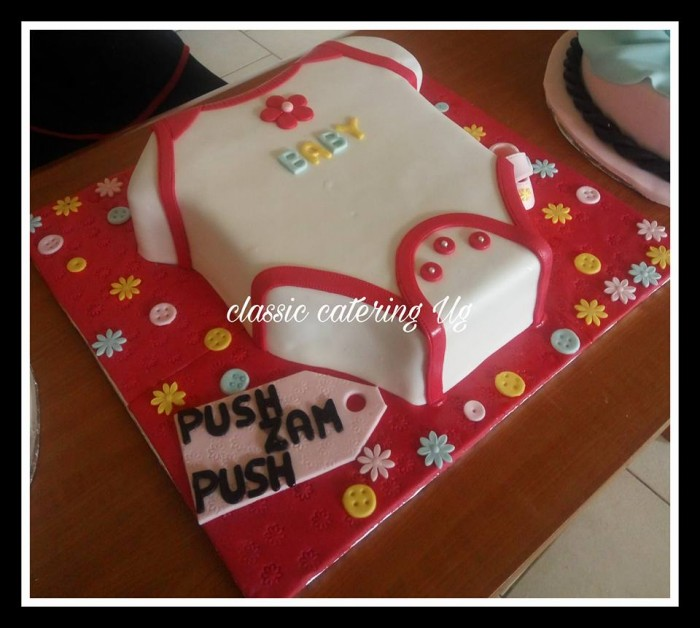Zam's baby shower cake by Classic Catering Uganda