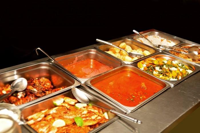 Restraunt buffet at Emerald Hotel Kampala