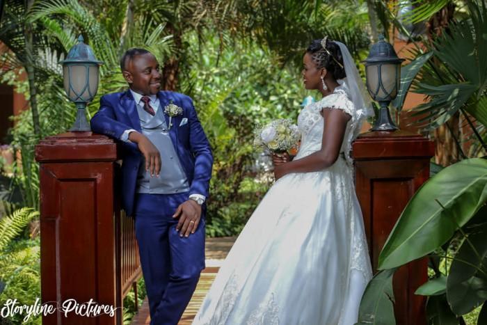 Derrick weds Irene