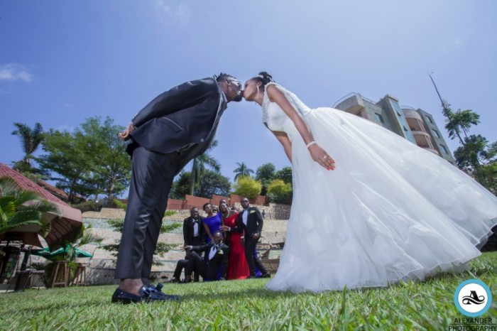 Andrew and Violet at their wedding photo shoot by Alexander Photography