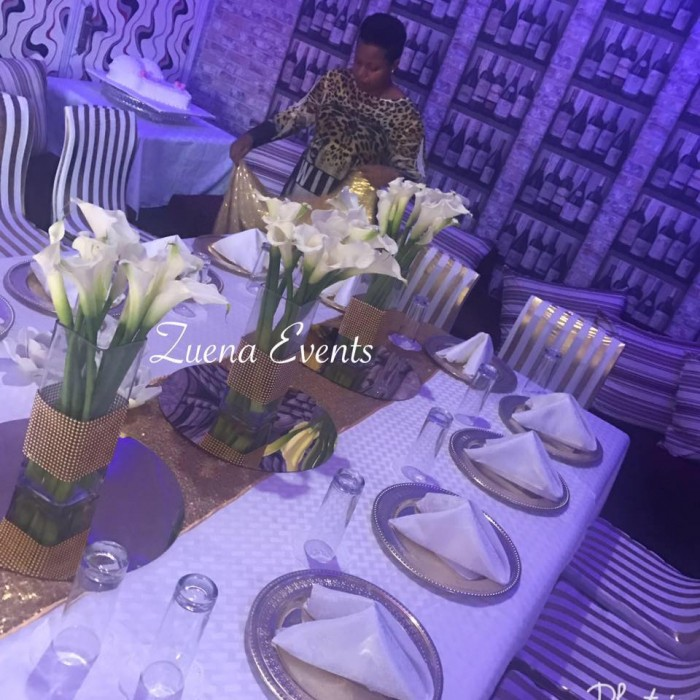 Zuena Kirema's Personal Touch to Event Decor