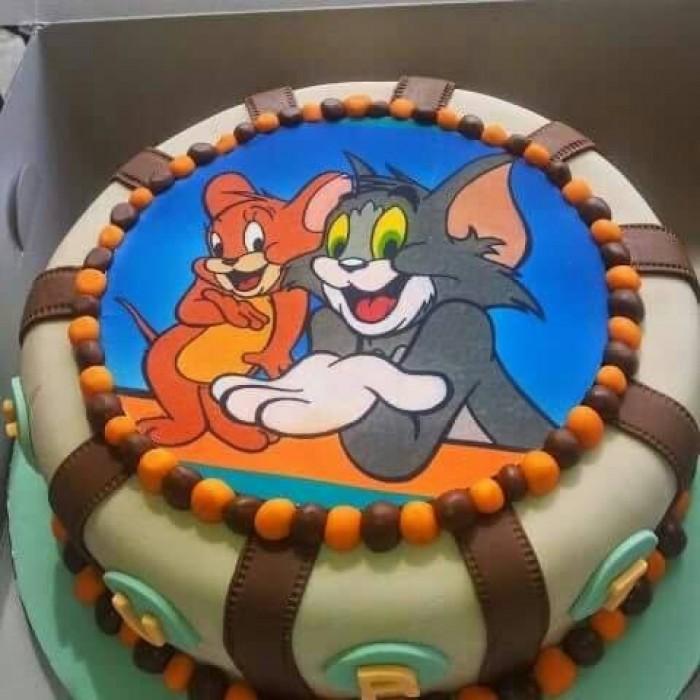 A kids' birthday cake from Elieonai Cakes