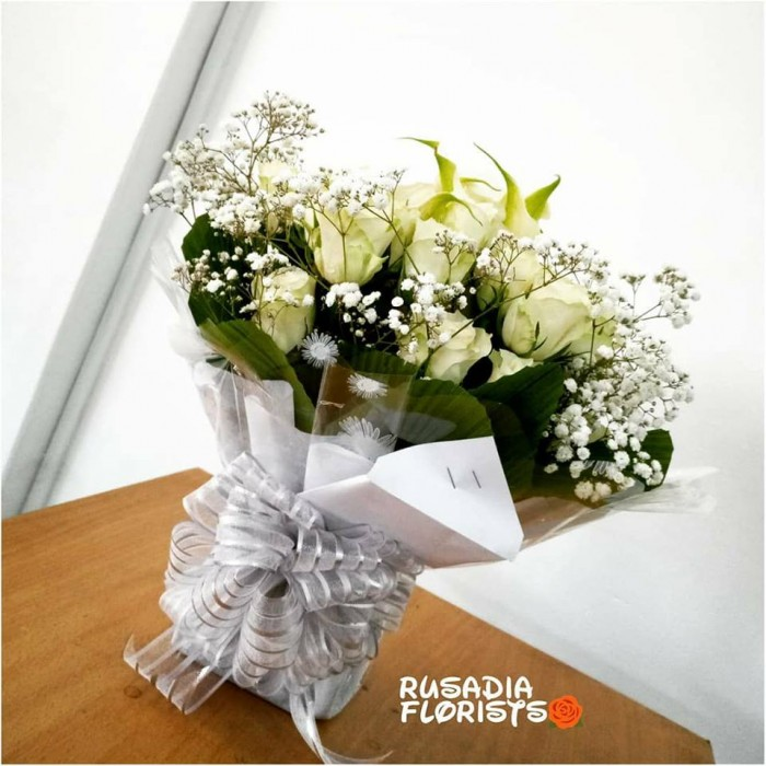 A bouquet of flowers from Rusadia Florists and Decorations