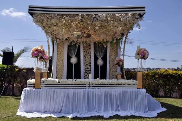 Shamim's kwanjula decor by Rossy Roots Events