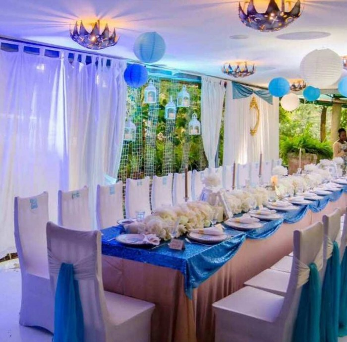 Dinner Decoration by Essie Events