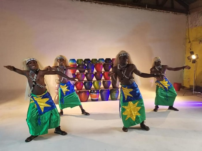 The Dance N' Beats Cultural Troupe video shoot