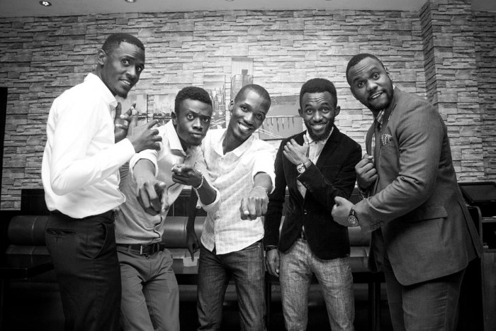 The Canaan Gents pose for a photo moment