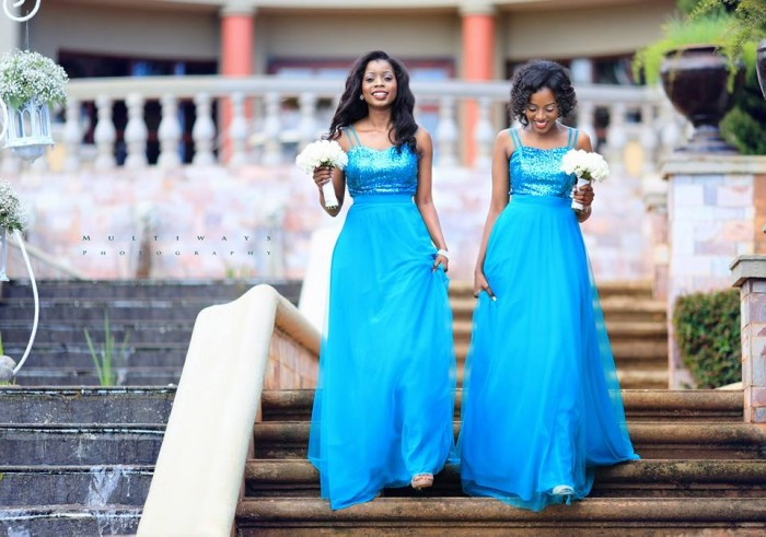 Gorgeous Ugandan bridesmaids, photo by MultiWays Photography