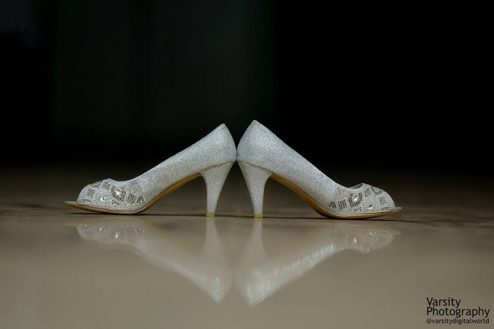 Bridal shoes, photo by Varsity Digital World
