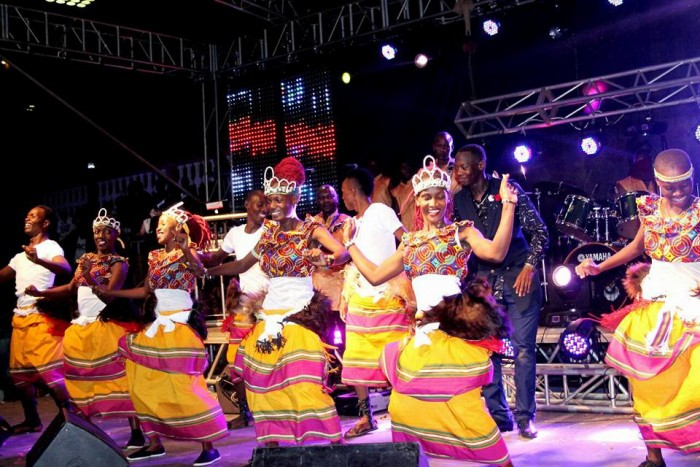 The Dance N' Beats Cultural Troupe Perform at the Expo