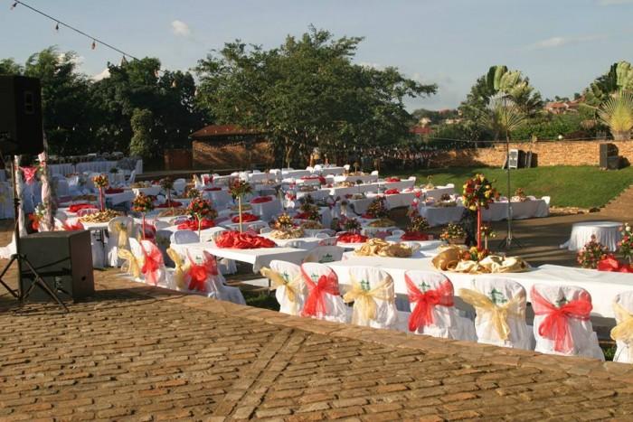 Wedding Reception Venue at Ndere Kisaasi