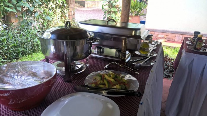 Chafing dishes from Mapenzi Events