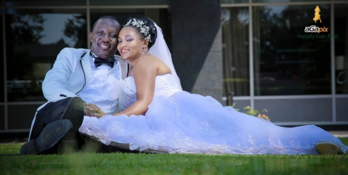 Fred and Olivia at their wedding photo shoot with Agapix Photography