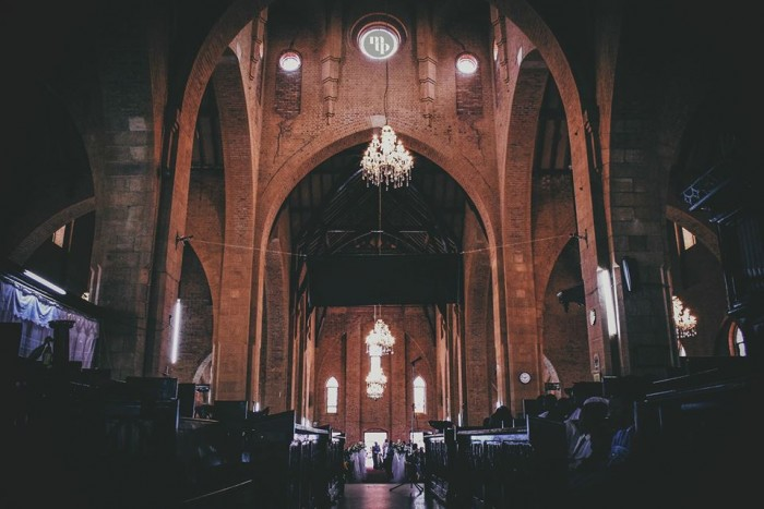 Inside the walls of St. Paul's Cathedral, Namirembe - photo by Mohsen Taha Photography