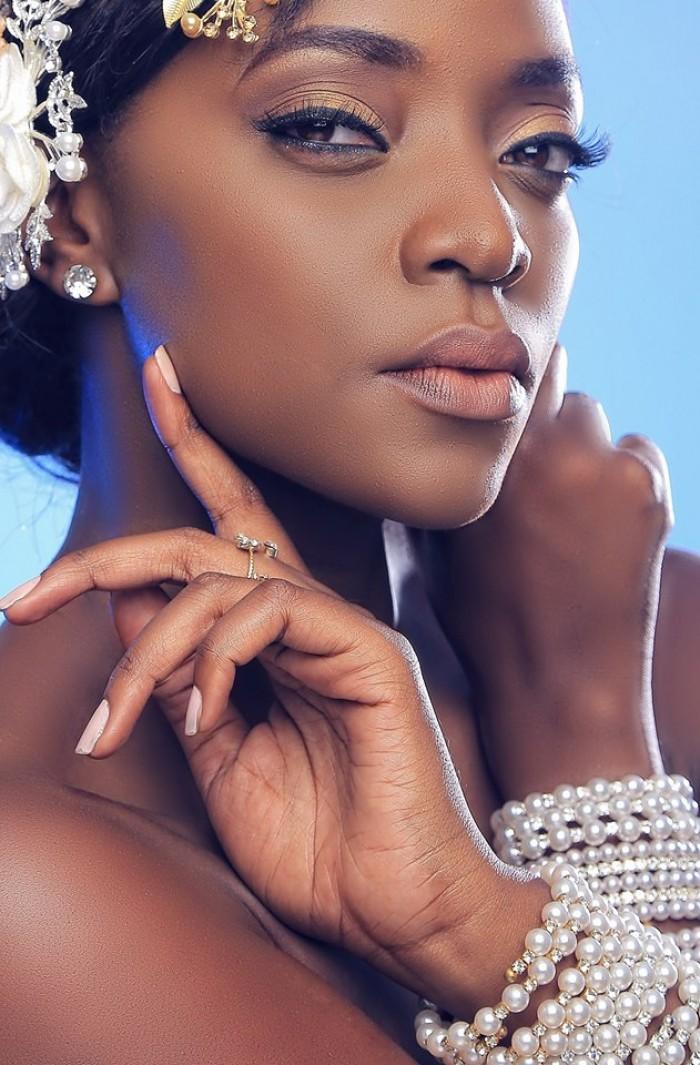 Former miss Uganda Stella Nantumbwe, shots by Oscar Ntege