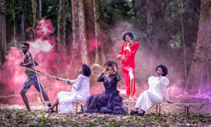Vintage Fashion Shoot in Mpanga Forest