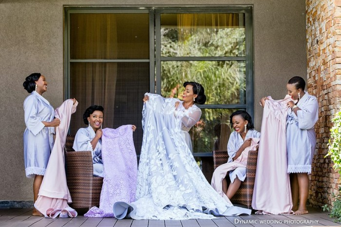 Happy Brides, photo by Dynamic Wedding Photography