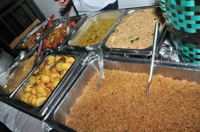 Ugandan jollof rice prepared by Sunrise Catering Services Limited