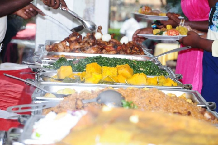 Catering services with Ksan Events