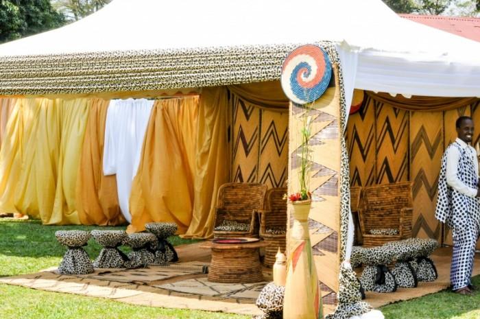 Anthony Kahaya & Joanna Kabanda's Gushaba decorations at Jahazi Pier Munyonyo