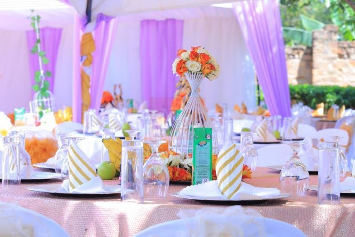 Jackie's Introduction ceremony decor by Monique Events Uganda