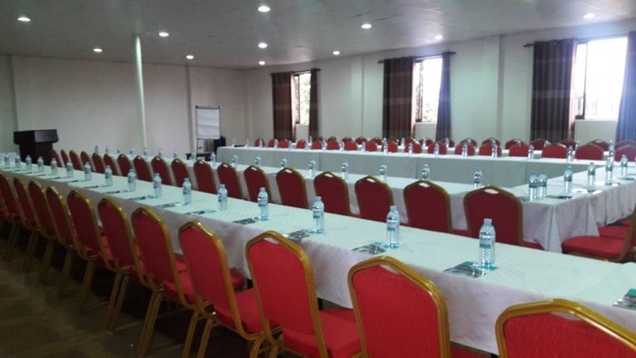 A conference room at Rivonia Suites