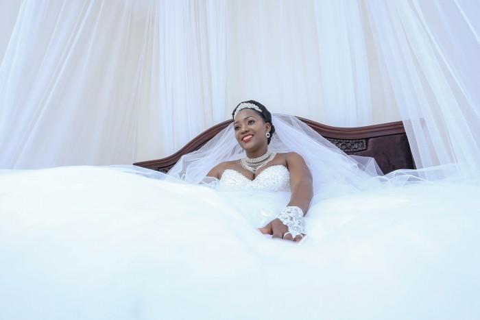 Dorothy's Boho Princess Wedding Gown