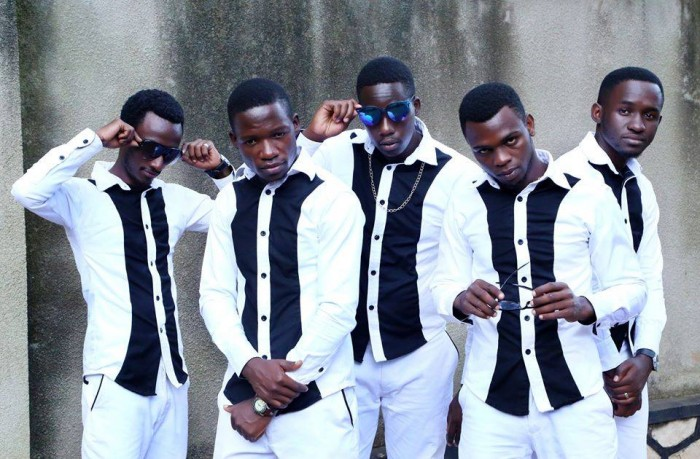 Team member of the Cape Brothers clad in black and white outfits
