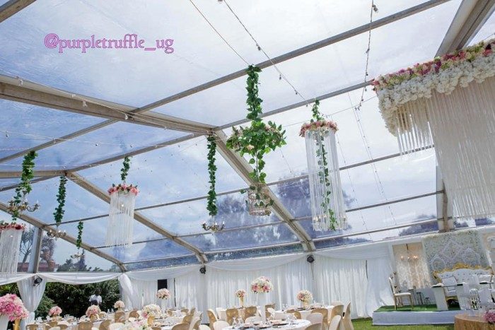 Leo weds Damalie wedding decor by PTW & Events
