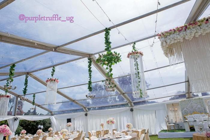 Leo weds Damalie wedding decor by PTW & Events