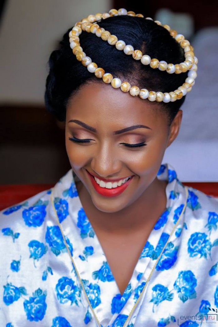 Richbell at her kuhingira (traditional wedding), shots by Events Guru Photography