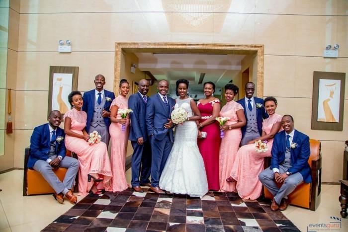 Alex weds Diana Nuwamanya