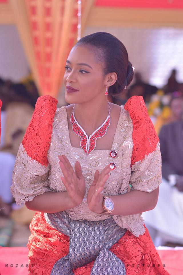 Doreen Komuhangi at an introduction ceremony covered by Mozart pictures