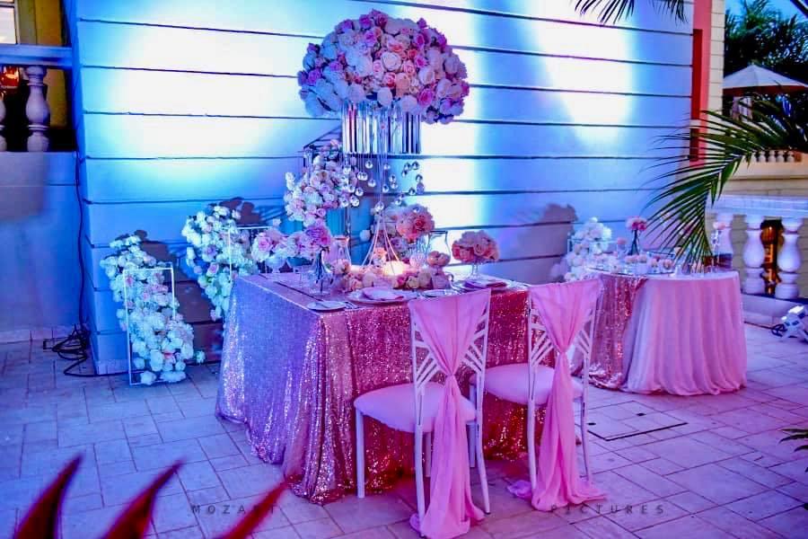 Anita Beryl's birthday decor by Icandy at Serena Kigo