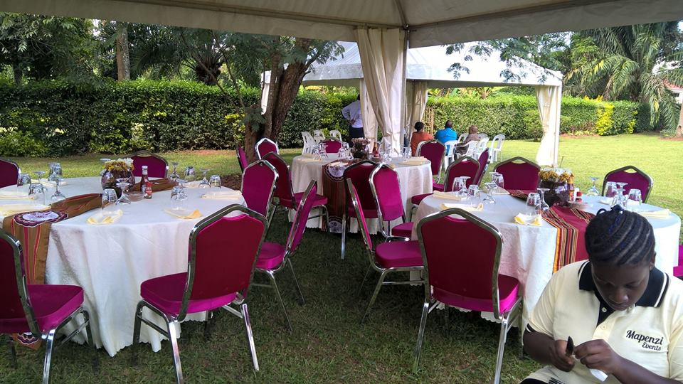 Round table party setups by Mapenzi Events
