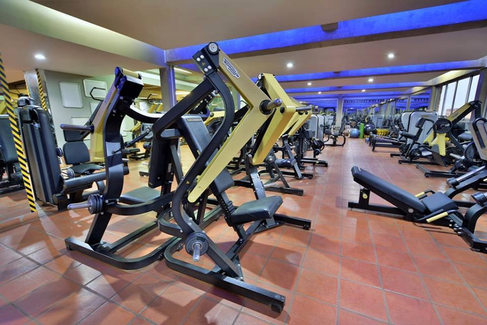 A fully equipped gym at Kabira Country Club