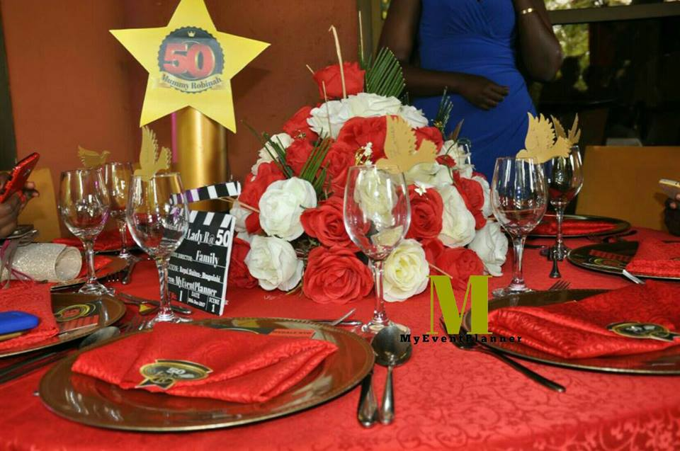 Red Themed Reception Decor By My Event Planner
