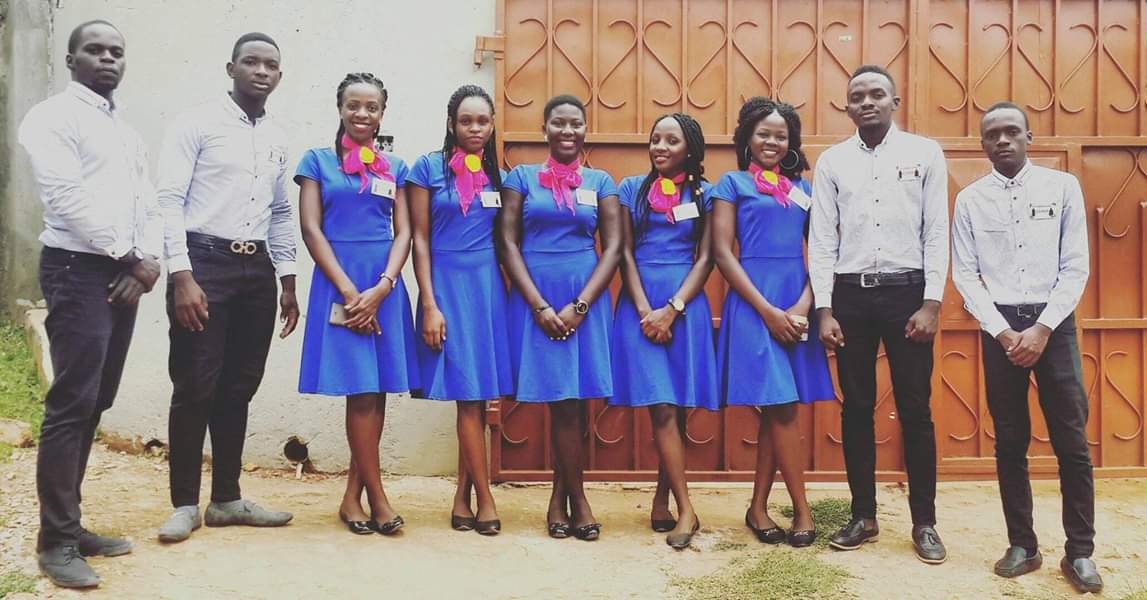 Ushering at an introduction ceremony