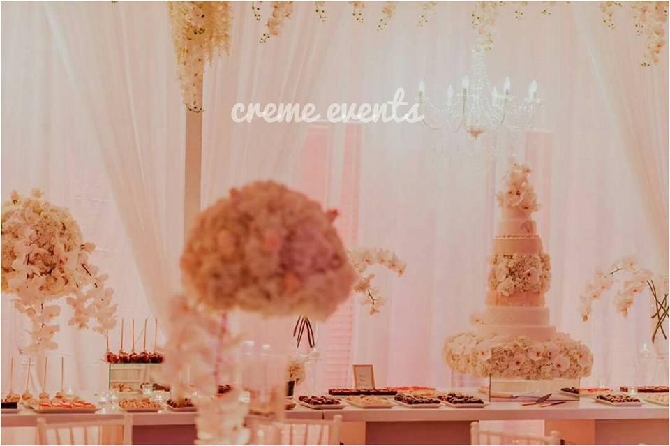 Beautiful decor always by Creme Events Uganda