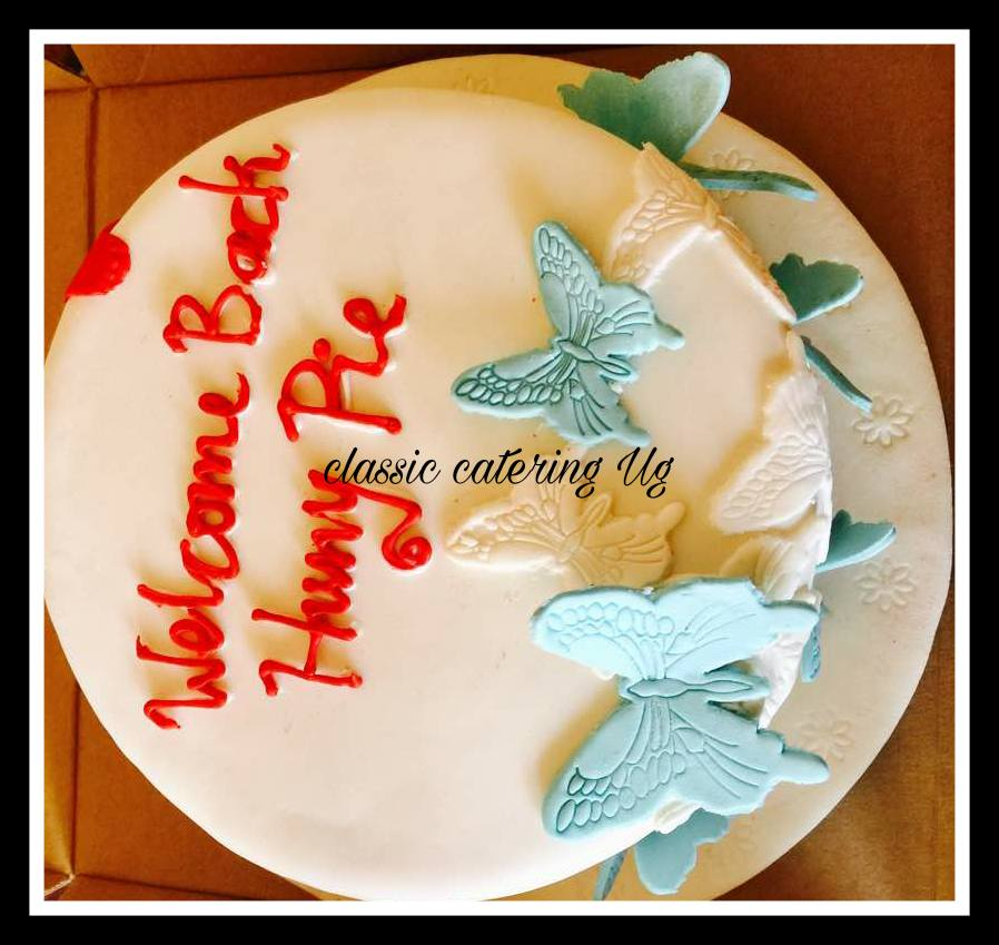 Beautiful cake baked by Classic Catering Uganda