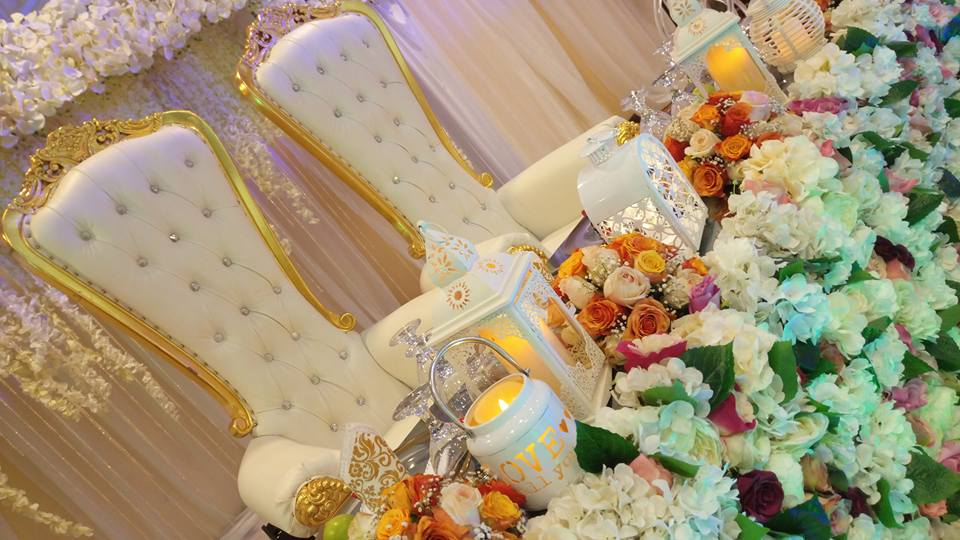 High Table Set up by Bloven Events