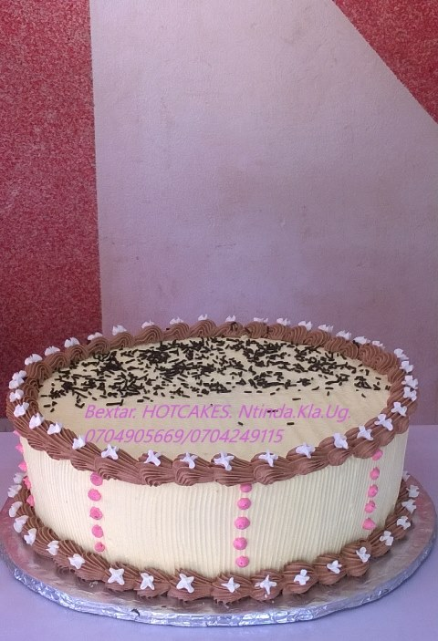 A nice cake baked by Bextar hotcakes