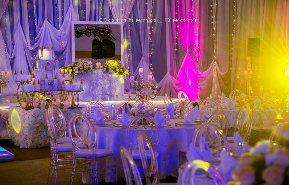 Martin and Pronna's fairy tale wedding decorations